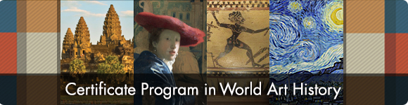 Certificate in the History of World Art