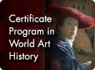 World Art History Certificate Program