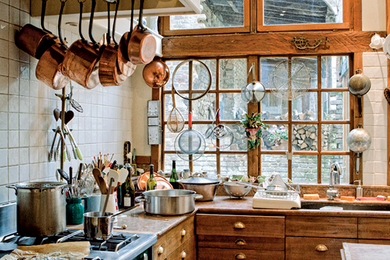 In The French Kitchen Where Joie De Vivre Begins