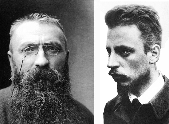 Rilke and Rodin: A Friendship and a Clash of Egos ...