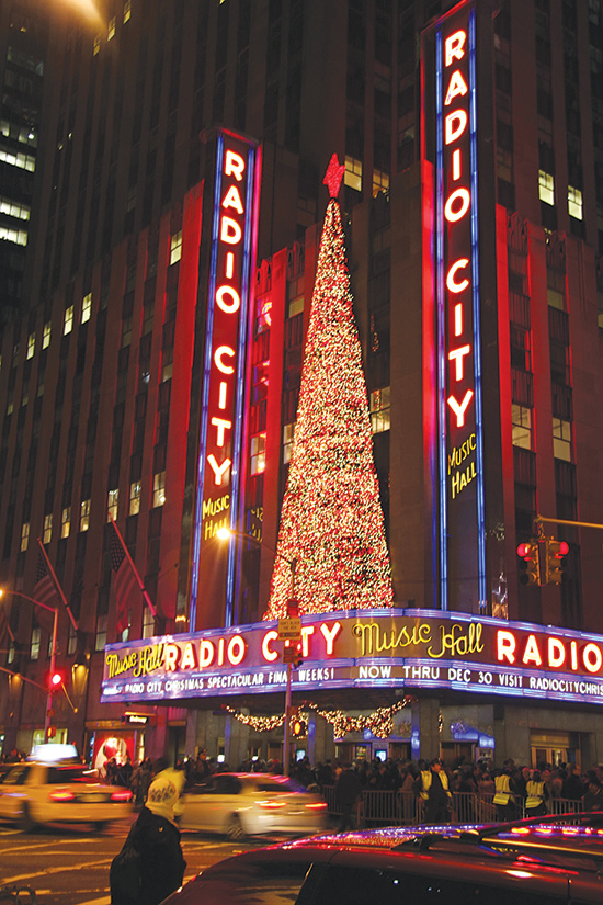 Radio City Music Hall: Front and Center for the Christmas